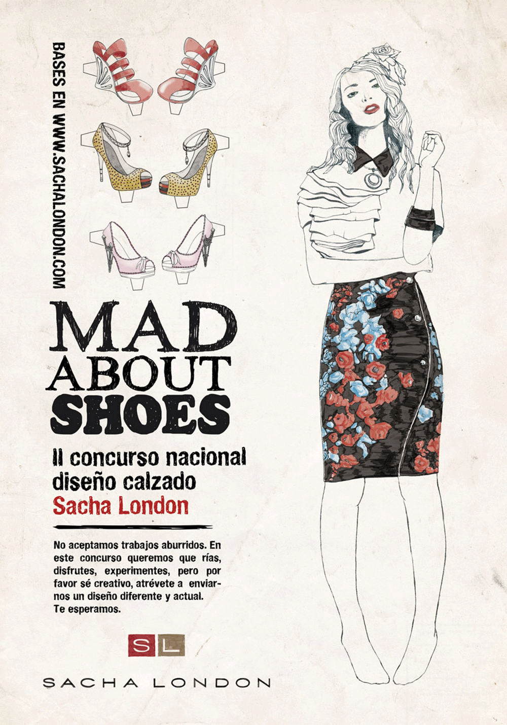Cartel II concurso Mad About Shoes